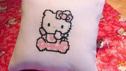 Hello Kitty Pillow-300w