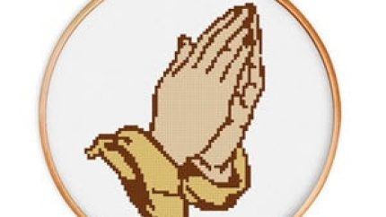 religious cross stitch patterns image