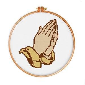 religious cross stitch patterns image