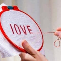 wedding cross stitch