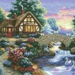 country cottage image