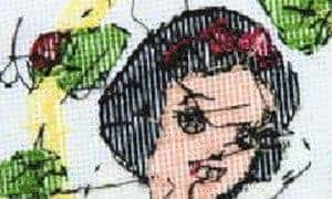 untidy cross stitch