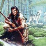 warrior wolf image