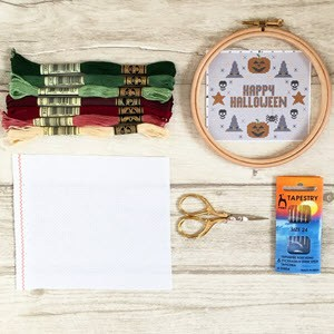 necessary counted cross stitch supplies