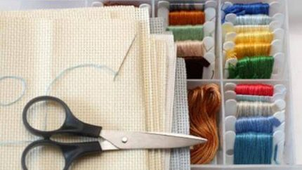 counted cross stitch supplies