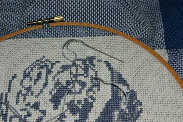 cross stitch hoops