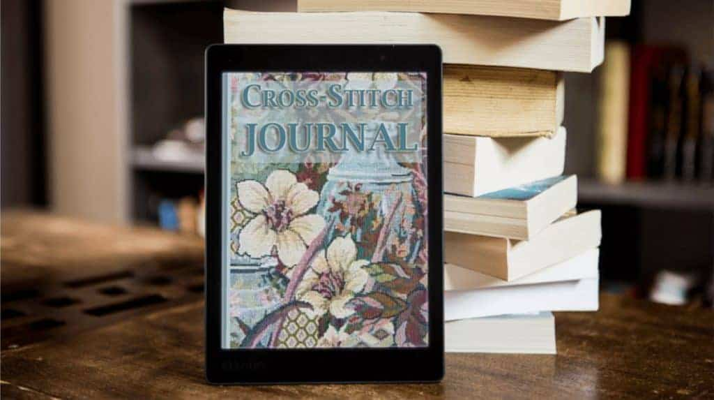 cross stitch journal