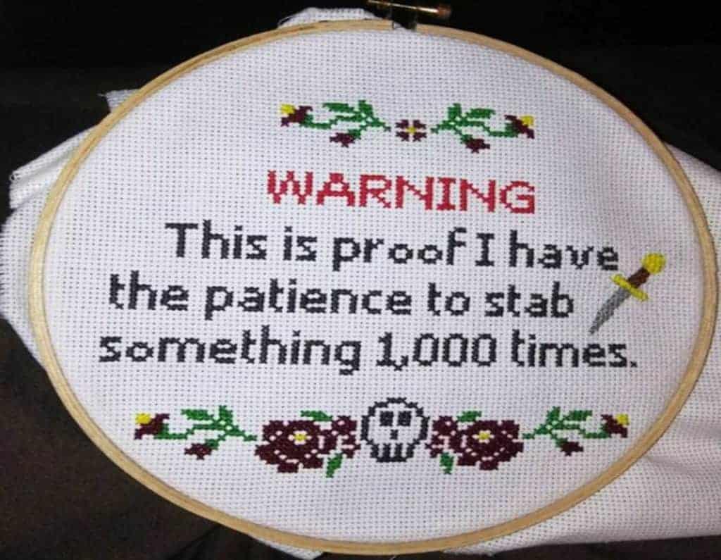 cross stitch fun