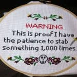 cross stitch fun