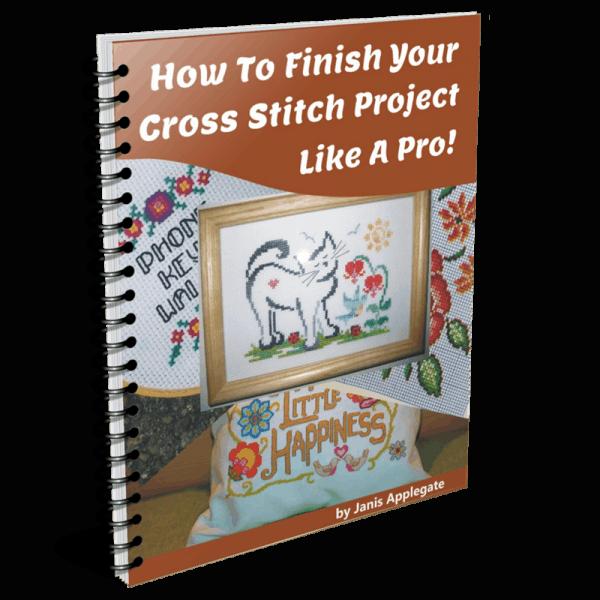 finish cross stitch project