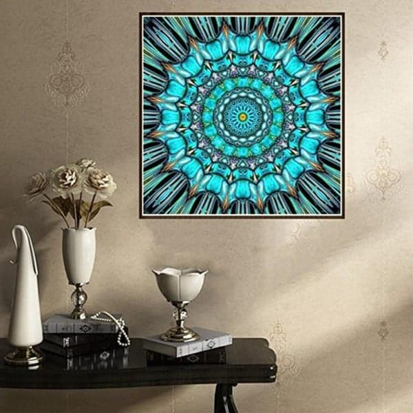 mandala cross stitch pattern